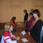 Уверенное поведение при работе с клиентами. Фото с тренинга