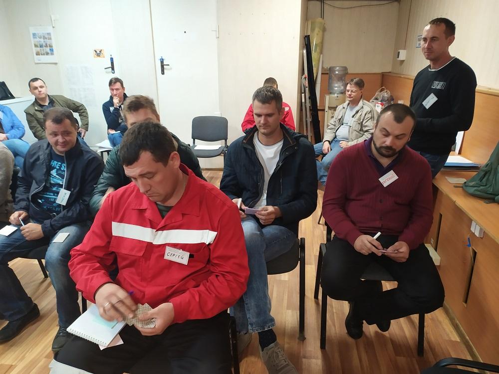 Управление исполнением - тренинг для руководителей